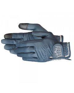 "PFIFF ""CRYSTAL CROWN"" RIDING GLOVE WITH BEACH STONE"