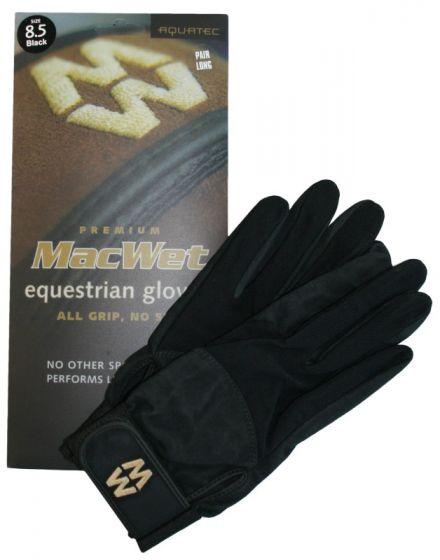 Hofman Riding Gloves Micro Mesh 9 White