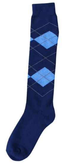 Hofman Knee Socks RE 43/46 Dark Blue/Light Blue
