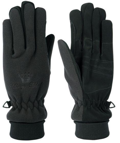Harry's Horse Gloves fleece breathable / waterproof black