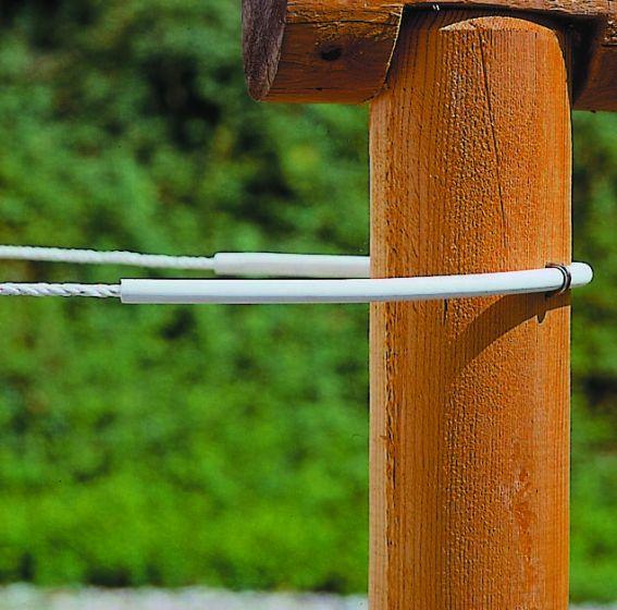 Hofman Insulator tube flexi white to 8 mm cord