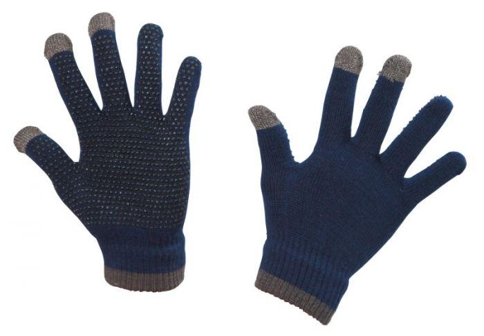 Hofman Riding Gloves Magic Touch Blue