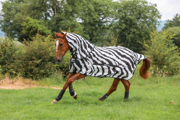 Bucas Buzz Off Zebra Full Neck