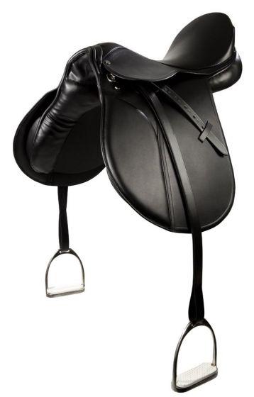 PFIFF VS saddle 'Beauty' including stirrup leathers and stirrups