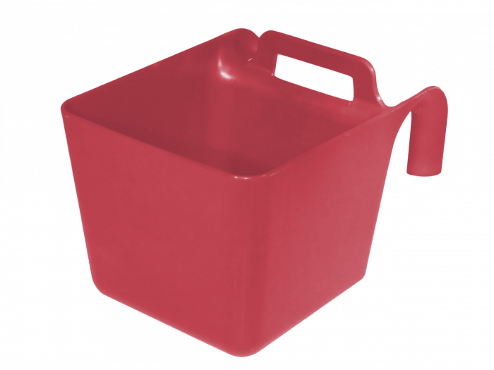 Hofman Food bowl with suspension and handle green KS
