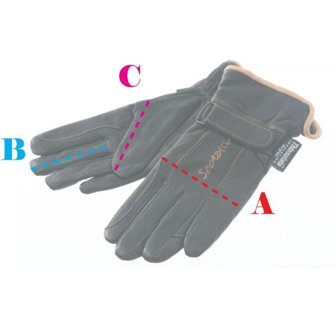 Maattabel Handschoenen